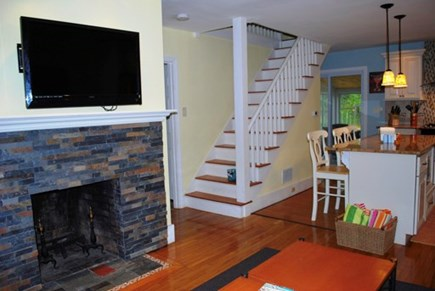 Harwich Port Cape Cod vacation rental - Living/Kitchen room