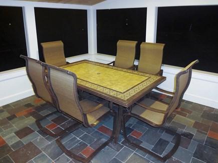 Harwich Port Cape Cod vacation rental - Sun room Dining