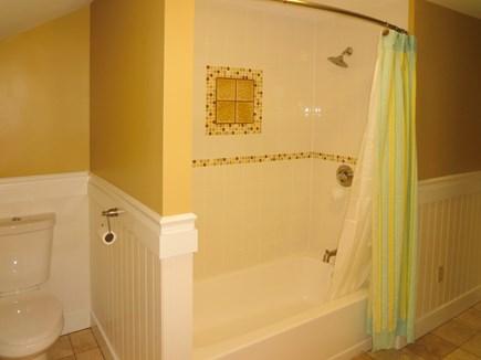 Harwich Port Cape Cod vacation rental - Family Bath with Tub shower
