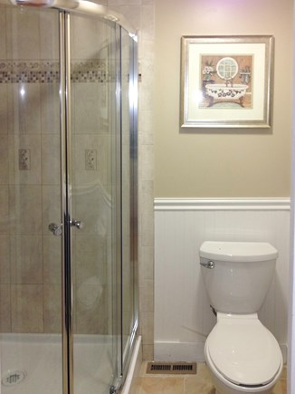 Harwich Port Cape Cod vacation rental - Family Bath (1st Floor) with Shower