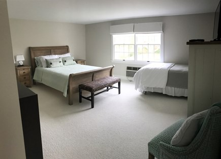 Harwich Cape Cod vacation rental - Downstairs master with en suite (queen and twin)