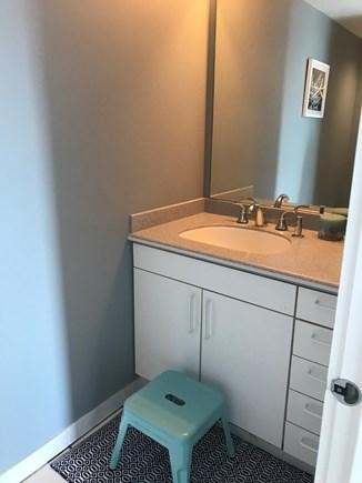 Harwich Cape Cod vacation rental - Half bath downstairs