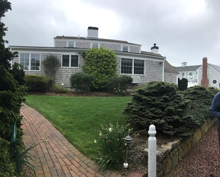 Harwich Cape Cod vacation rental - Back of house
