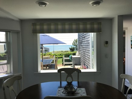 Harwich Cape Cod vacation rental - Eating area of kitchen