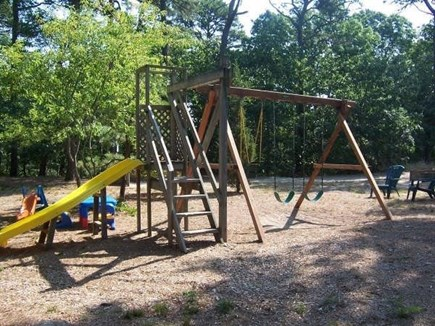 Eastham Cape Cod vacation rental - Playground shared with the other cottages