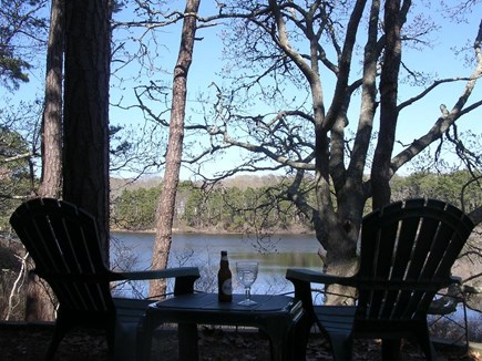 Eastham Cape Cod vacation rental - Ahh, relax and enjoy the beauty of the pond