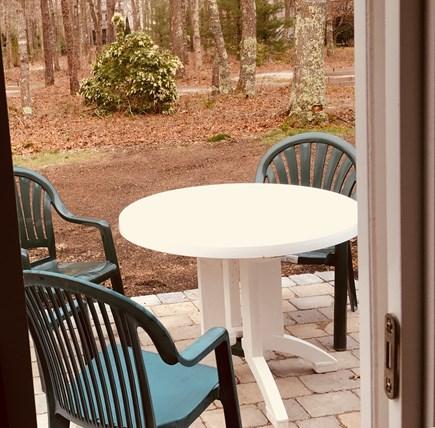 Mashpee Cape Cod vacation rental - Outside deck off living room