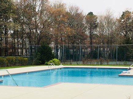 Mashpee Cape Cod vacation rental - Beautiful outdoor pool, Jacuzzi and sauna are by inside pool