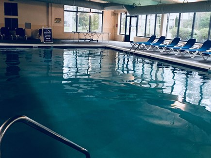 Mashpee Cape Cod vacation rental - Nice indoor pool great for swimming laps or the kids playing!
