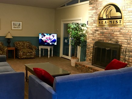 Mashpee Cape Cod vacation rental - Cozy lobby with different recreation activities