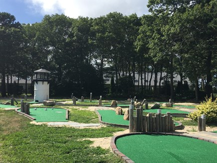 Mashpee Cape Cod vacation rental - There is a tennis court and miniature golf on the premises