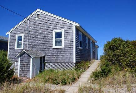 East Sandwich Beach Cape Cod vacation rental - View of cottage from road side