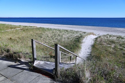 East Sandwich Beach Cape Cod vacation rental - View of steps and beach