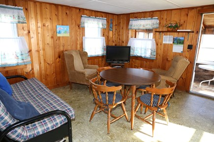 East Sandwich Beach Cape Cod vacation rental - Dining/Living opens to porch