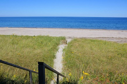 East Sandwich Beach Cape Cod vacation rental - Steps to private beach