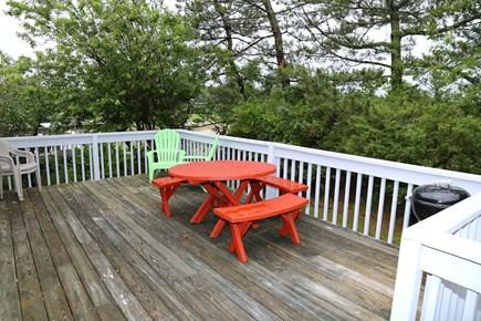 East Sandwich Cape Cod vacation rental - Back Deck