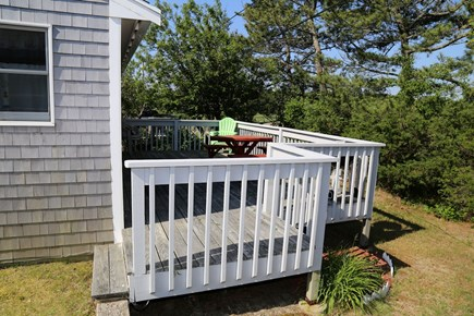 East Sandwich Cape Cod vacation rental - Back deck with views of marsh