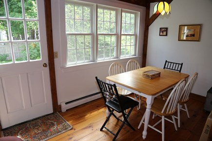 Sandwich Village Cape Cod vacation rental - Dining Area