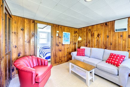 East Sandwich Cape Cod vacation rental - Living Area with TV