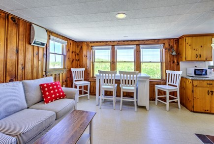 East Sandwich Cape Cod vacation rental - Kitchen opens to Living/Dining Area