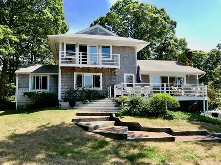 Orleans Cape Cod vacation rental - House & decks from back yard