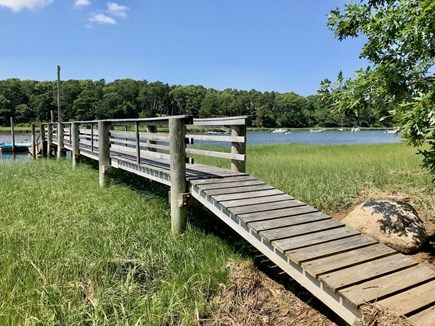 Orleans Cape Cod vacation rental - Dock on Namequoit River