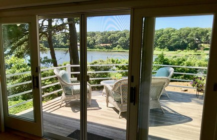 Orleans Cape Cod vacation rental - Sliders onto deck
