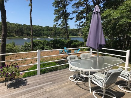 Orleans Cape Cod vacation rental - Deck view overlooking Namequoit River