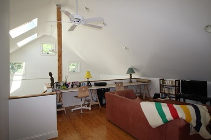 Truro Cape Cod vacation rental - Family Room with Desk