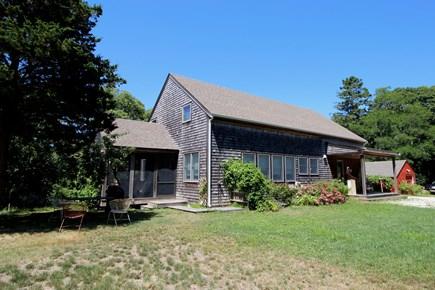 Truro Cape Cod vacation rental - Level, landscaped yard