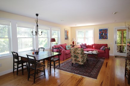 Truro Cape Cod vacation rental - Bright, open dining and living area
