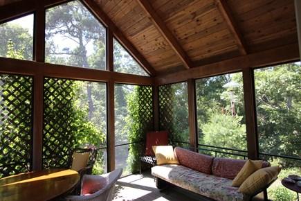 Truro Cape Cod vacation rental - Screen Porch