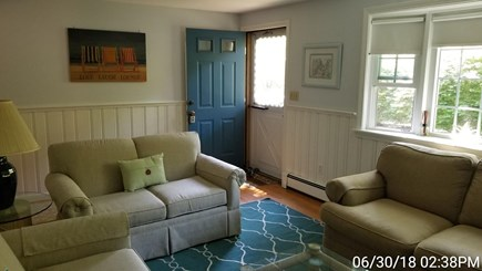 South Yarmouth Cape Cod vacation rental - Main entrance into living room