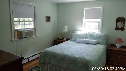 South Yarmouth Cape Cod vacation rental - Master bedroom with 1/2 bath