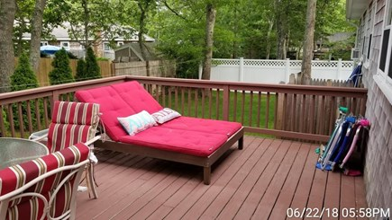 South Yarmouth Cape Cod vacation rental - Double chaise lounger and beach chairs