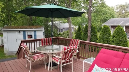 South Yarmouth Cape Cod vacation rental - Outdoor dining