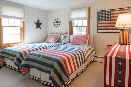 Harwich Port Cape Cod vacation rental - Bedroom # 3- 2 Twins