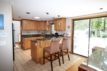 Wellfleet Cape Cod vacation rental - Sharp Looking, the Kitchen is Fully Equipped