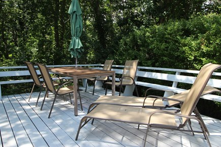 Wellfleet Cape Cod vacation rental - Lounge Chairs, Wide Benches