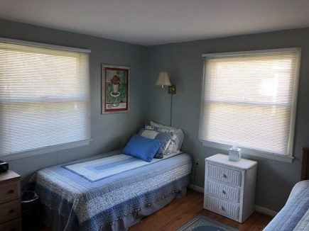 Falmouth Cape Cod vacation rental - First floor bedroom #2 (twin beds)