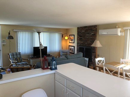 Falmouth Cape Cod vacation rental - Living room (view from kitchen)