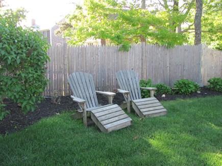 Dennis Port Cape Cod vacation rental - Back yard