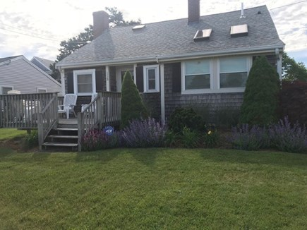 Yarmouth Cape Cod vacation rental - Front Deck with Ocean Views!