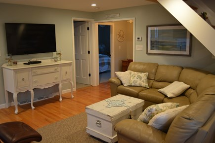 Yarmouth Cape Cod vacation rental - Living Room with 50 inch flat screen and cable!