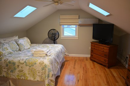 Yarmouth Cape Cod vacation rental - Bedroom 3:  Master with King size bed and 42 inch screen TV!