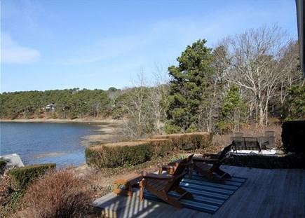 Wellfleet Cape Cod vacation rental - Great deck area