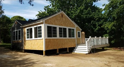 Eastham Cape Cod vacation rental - Brand new addition with living room and porch, second angle