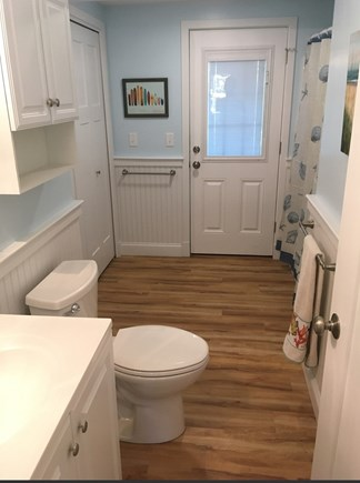 Eastham Cape Cod vacation rental - Brand new bathroom with washer/dryer combo and new shower