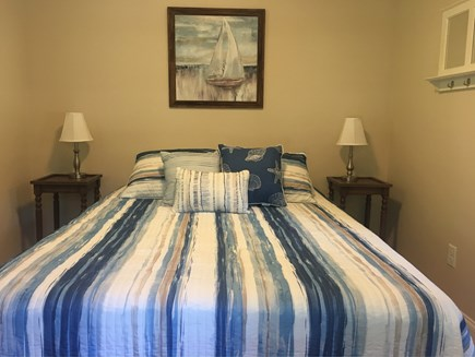 Eastham Cape Cod vacation rental - New master bedroom with comfortable queen bed.