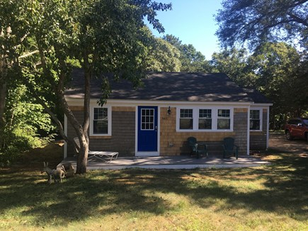Eastham Cape Cod vacation rental - Refinished front with new porch and chairs